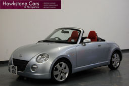 Daihatsu Copen 2Dr + RED LEATHER + FULL DAIHATSU SERVICE HISTORY + 1 INDEPENDENT, Manual, Convertible, 2004 04 Reg,
