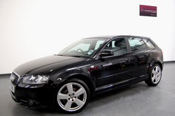 AUDI A3 1.6 FSI S LINE 5DR + NAV + LEATHER, 5 Doors, Manual, Hatchback, Petrol, 2007