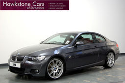 BMW 3 Series 330i M Sport 2Dr 3.0 + FULL BMW SERVICE HISTORY SAT NAV + HEATED RED LEATHER, 6 Speed Manual, Coupe, Petrol, 2007 57 Reg,