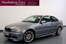 BMW 3-SERIES 330 Cd Sport 2dr 3.0 + FULL BLACK LEATHER + MEMORY + BLUETOOTH + FBMWSH + HARMAN/KARDON, Step Auto, Coupe, Diesel, 2004 54 Reg,