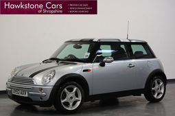 Mini Hatch One 1.6 3Dr + A/C + FSH, Manual, Hatchback, Petrol, 2003 53 Reg,