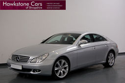Mercedes-Benz CLS 320 CDI, 4dr, 3.0 + SAT NAV + HEATED MEMORY LEATHER + 18