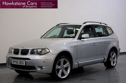 BMW X3 3.0d SPORT 5Dr + LEATHER + SENSORS, 6 Speed Manual, 4x4, Diesel, 2005 55 Reg,