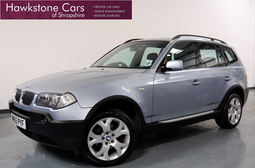 BMW X3 2.0D SPORT + 1 LADY OWNER + 18