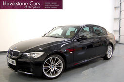 BMW 3 SERIES 330D M SPORT 4DR + CREAM LEATHER + SAT NAV, 4 Doors, Manual, Saloon, Diesel, 2007 57 Reg,