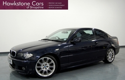 BMW 3 SERIES 320 CD SPORT 2DR + XENONS + BLUETOOTH, 2 Doors, Manual, Coupe, Diesel, 2005 55 Reg