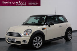 Mini 1.6 Cooper 3dr + 1 OWNER + HEATED HALF BLACK LEATHER + FULL MINI SERVICE HISTORY + HUGE SPEC, Manual, Hatchback, Petrol, 2006 56 reg,
