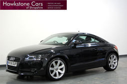 Audi TT 2.0T FSI + BLUETOOTH + FULL BLACK LEATHER + CRUISE CONTROL, Manual, Coupe, Petrol, 2008 58 Reg,
