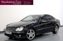 Mercedes-Benz CLK 320 CDi Sport 2Dr 3.0 + FULL TAN NAPPA LEATHER + CHERISHED EXAMPLE, Tip Auto, Coupe, Diesel, 2007 07 Reg,