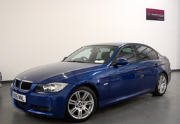 BMW 3 SERIES 320D M SPORT 4DR + FULL LEATHER + BLUETOOTH, 4 Doors, Manual, Saloon, Diesel, 2006