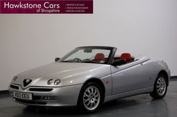 Alfa Romeo Spider 2.0 TS 16v 2dr + BEAUTIFUL EXAMPLE + LOW MILEAGE, Manual, Convertible, Petrol, 1999 V Reg,