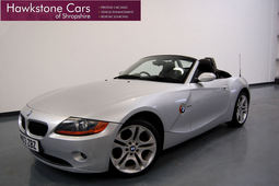 BMW Z4 2.5I 2DR + FULL BMW HISTORY + 18