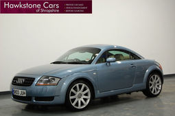 Audi TT 1.8T Quattro [225] + FACELIFT + FULL CREAM LEATHER + FSH, Manual, Coupe, Petrol, 2003 03 Reg,