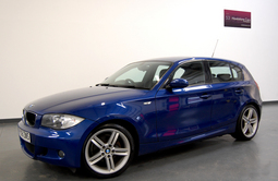 BMW 1 SERIES 118D M SPORT 5DR + BLUETOOTH, 5 Doors, Manual, Hatchback, Diesel, 2008