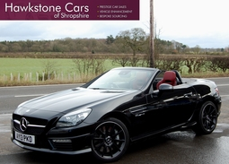 Mercedes-Benz SLK 5.5 SLK55 AMG Speedshift Plus 7G-Tronic 2dr (start/stop), 2013 (13 reg), Convertible