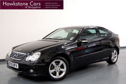 Mercedes-Benz C Class C160 SE  3dr 1.8 + 6 SPEED MANUAL + FSH, Coupe, Petrol, 2005 05 Reg,