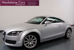 Audi TT 2.0T FSI 2DR + FULL BLACK HEATED LEATHER + BOSE + SENSORS, Manual, Coupe, Petrol, 2007 57 Reg,