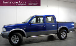Ford Ranger, 2.5TDdi XLT Thunder Double Cab Pickup 4WD, 2006 (56 reg), Pick Up
