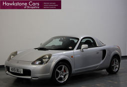 Toyota MR2 1.8 VVTi 2Dr + HARD TOP + A/C + FSH, Manual, Convertible, 2001 51 Reg,