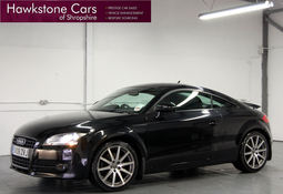 AUDI TT 2.0T FSI + FULL HEATED LEATHER + BLUETOOTH + XENONS, Manual, Coupe, Petrol, 2008 08 Reg,