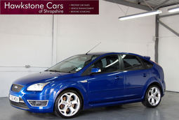Ford Focus 2.5 ST-3 5Dr + FULL FORD SERVICE HISTORY + BLUETOOTH + XENONS, Manual, Hatchback, Petrol, 2006 56 Reg,
