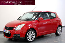 Suzuki Swift 1.6 VVT Sport 3Dr + KEYLESS ENTRY + KEYLESS START + FSH, Manual, Hatchback, Petrol, 2008 08 Reg,