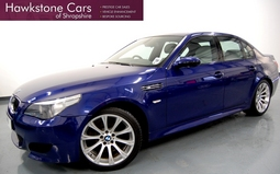 BMW M5 M5 4DR SMG + 6 MONTHS BMW APPROVED WARRANTY, SMG, Petrol, 2005