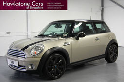 Mini 1.6 Cooper + FSH + BLUETOOTH + REAR PARKING SENSORS, Manual, Hatchback, Petrol, 2007 57 Reg,