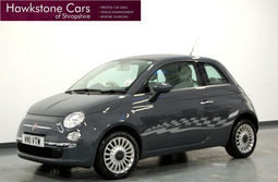 Fiat 500 1.2 Lounge 3Dr [Start Stop] + FIAT WARRANTY, Manual, Hatchback, Petrol, 2011 11 Reg,
