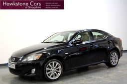 Lexus IS 220d SE + FSH + SAT NAV + FULL LEATHER, Manual, Saloon, Diesel, 2007 57 Reg,